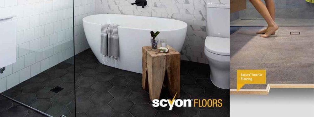 Scyon™Secura™ Interior Flooring for wet areas