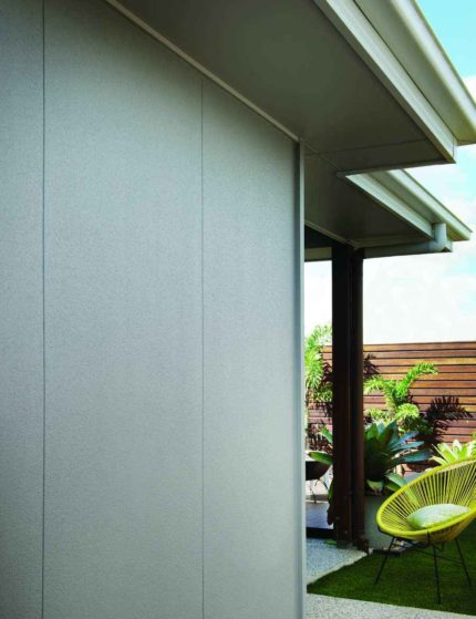 Easylap fibre cement with shiplap
