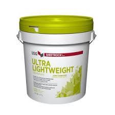SHEETROCK® UltraLightweight finishing compound