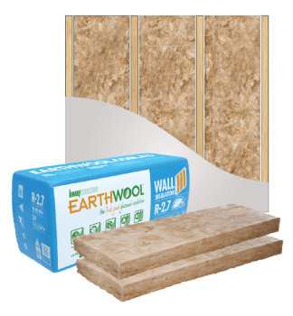 glasswool earthwool external wall batt