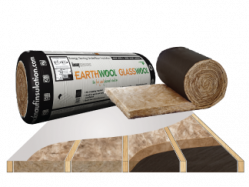 glasswool earthwool underfloor roll