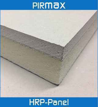 PIRMAX HRP PANEL PIR (Polyisocyanurate) rigid thermoset insulation