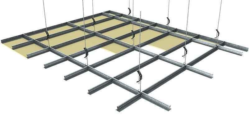 rondo rapid drywall grid ceiling