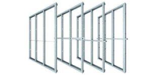 rondo steel stud track wall framing system