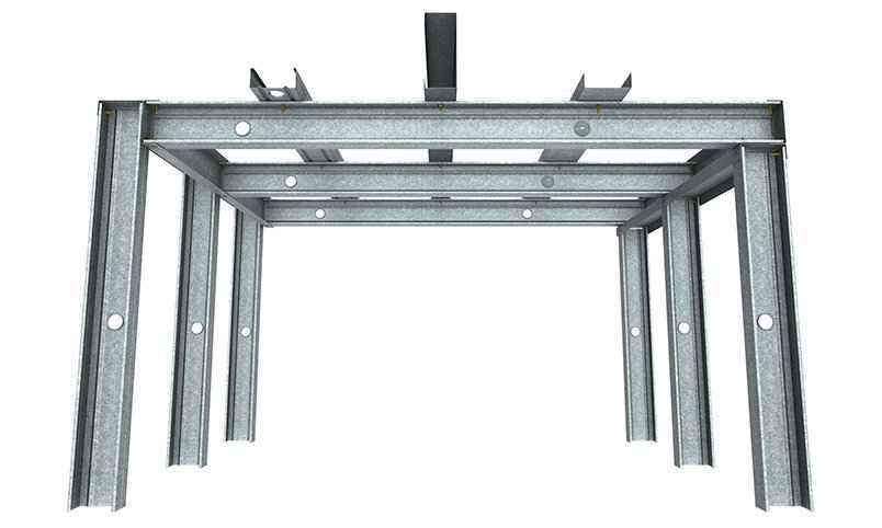 rondo steel stud ceiling system
