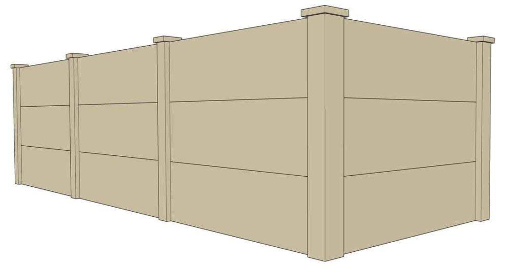 nasahi lightweight concrete panel fencing
