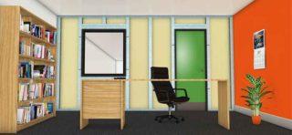 rondo duplex internal stud framing system