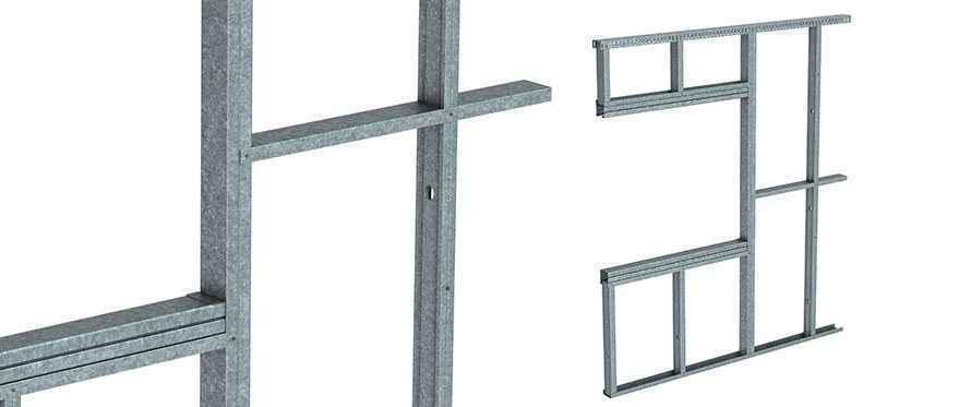 rondo maxiframe external wall framing system for exterior internal linings