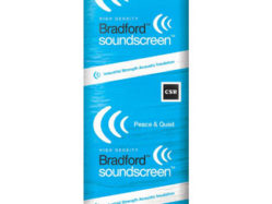 Glasswool Bradford Sound Screen Acoustic wall batts