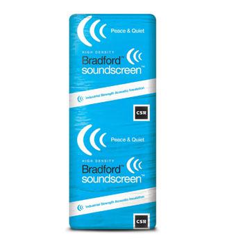 Glasswool Bradford Sound Screen Acoustic wall batts