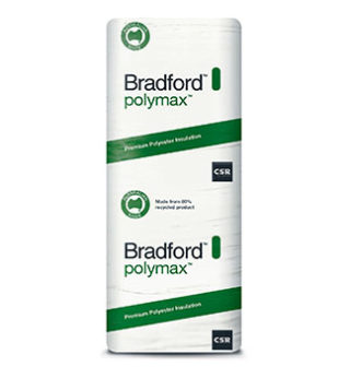 Glasswool – Bradford Polymax Ceiling Batts